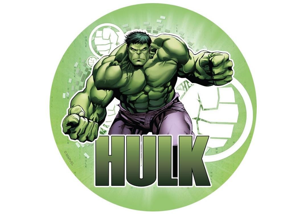 Edible Icing Image - Hulk