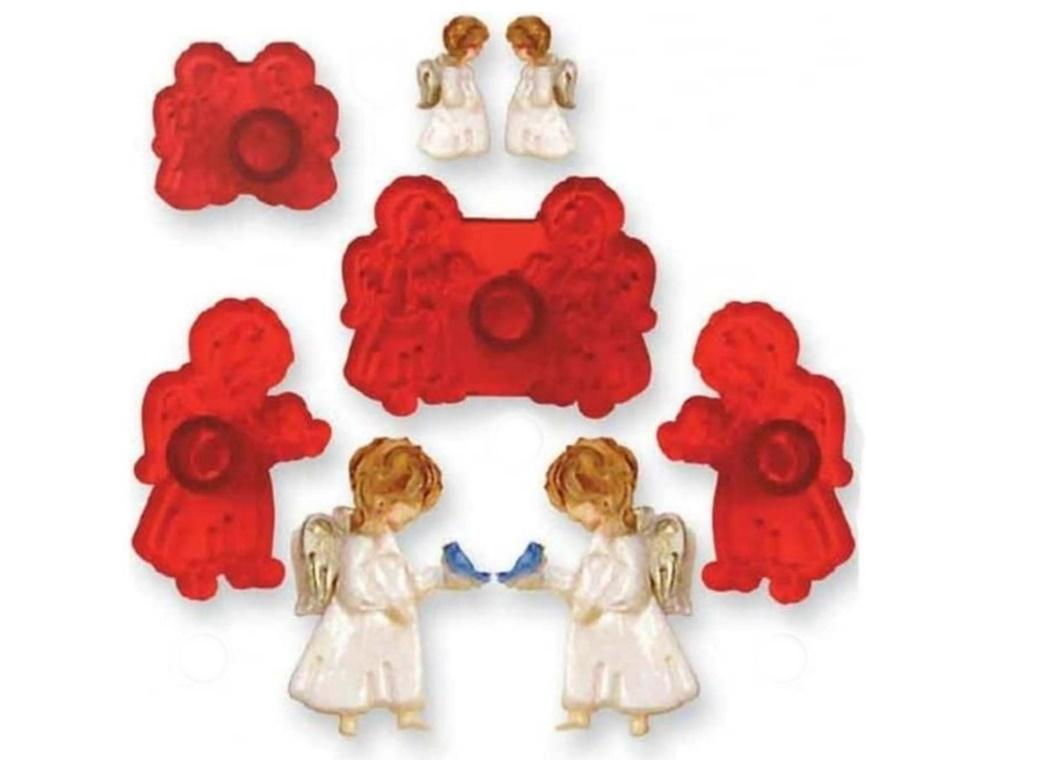 JEM Cute Angels 4pce Cutter Set