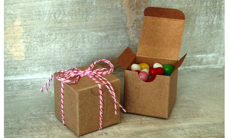 Kraft Favour Box - Small