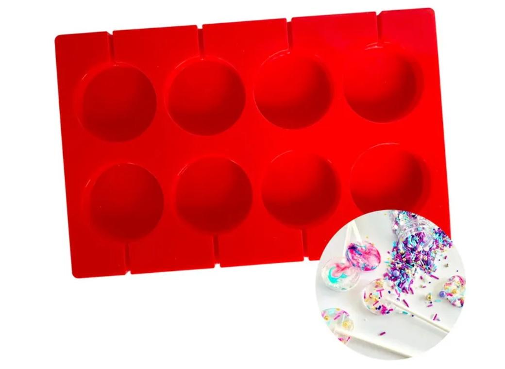 Large Lollipop Silicone Mould