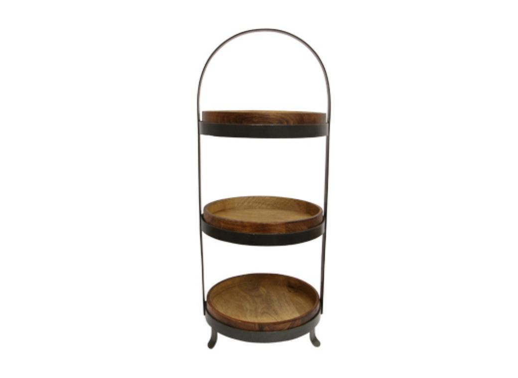 Ploughmans 3 Tiered Cake Stand