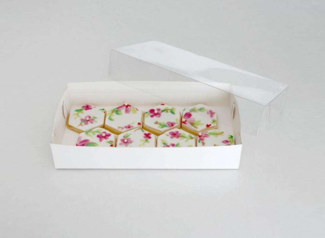 LOYAL Clear Lid Biscuit Box 9 x 4.5in