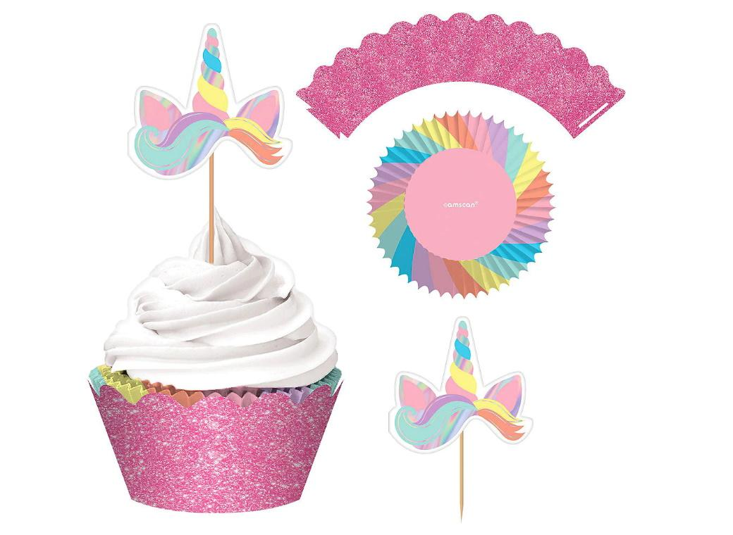 Magical Rainbow Cupcake Decorating Kit