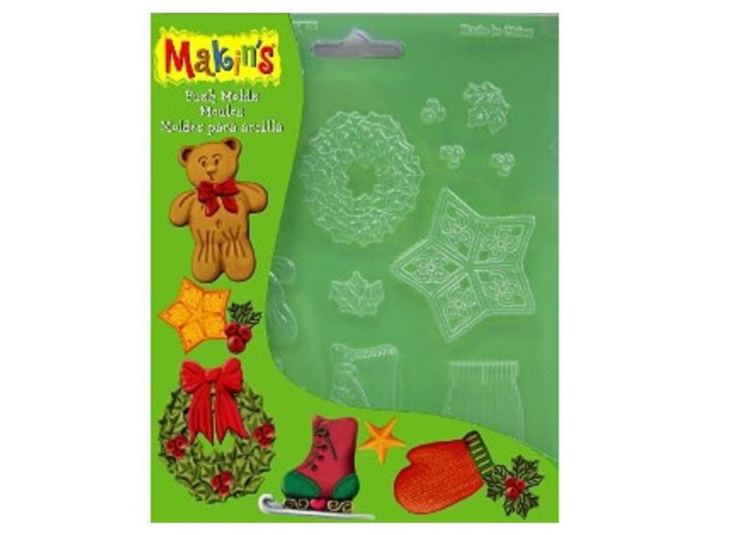 Makins Push Mould - Christmas Decor