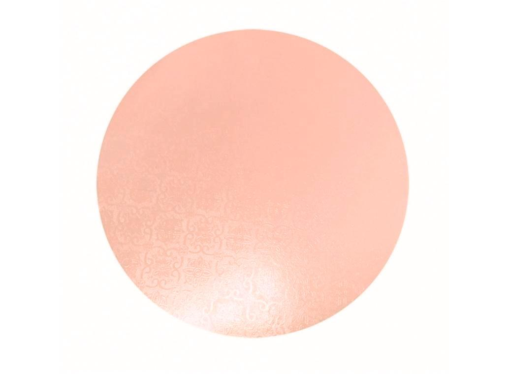 Peach Masonite Cake Board Round 12""