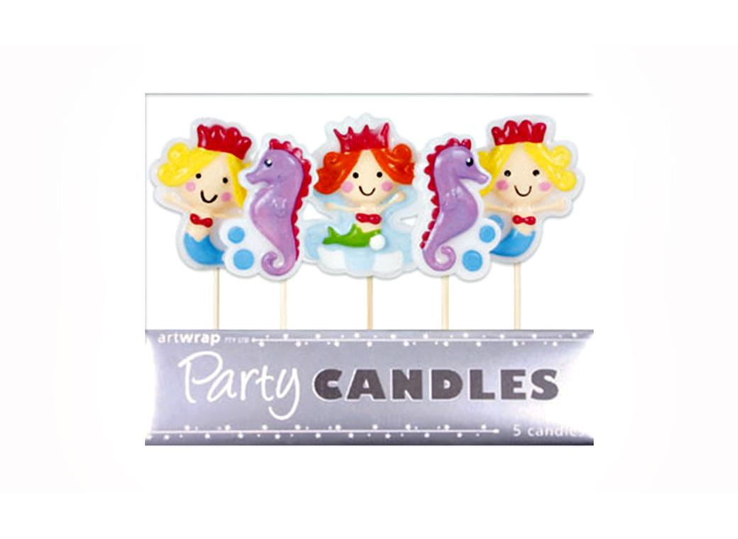 Party Candles - Mermaids