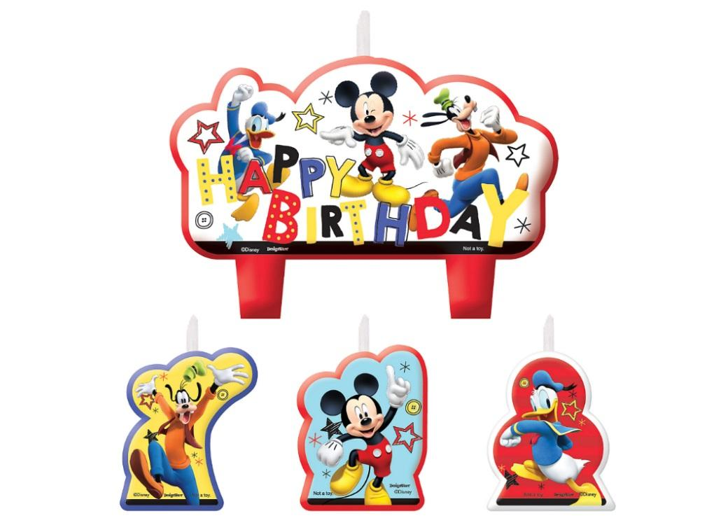 Mickey On The Go Candle Set