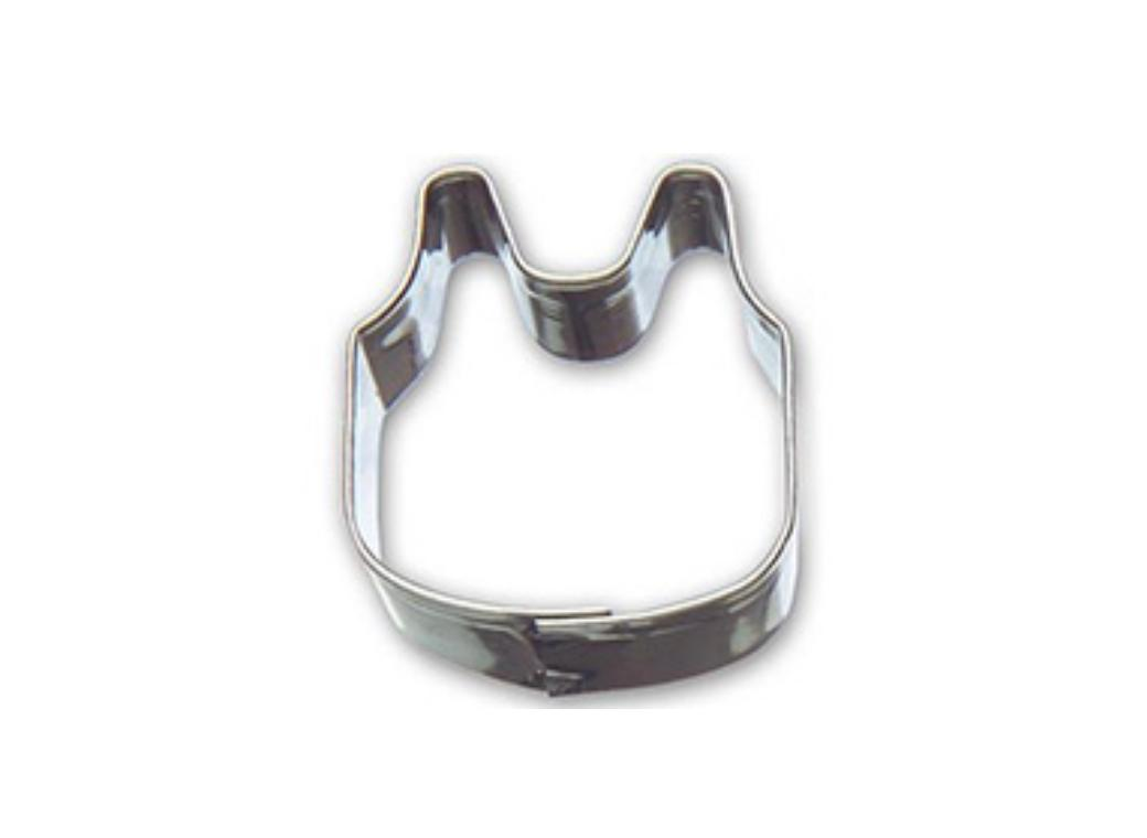 Mini Cookie Cutter - Baby Bib