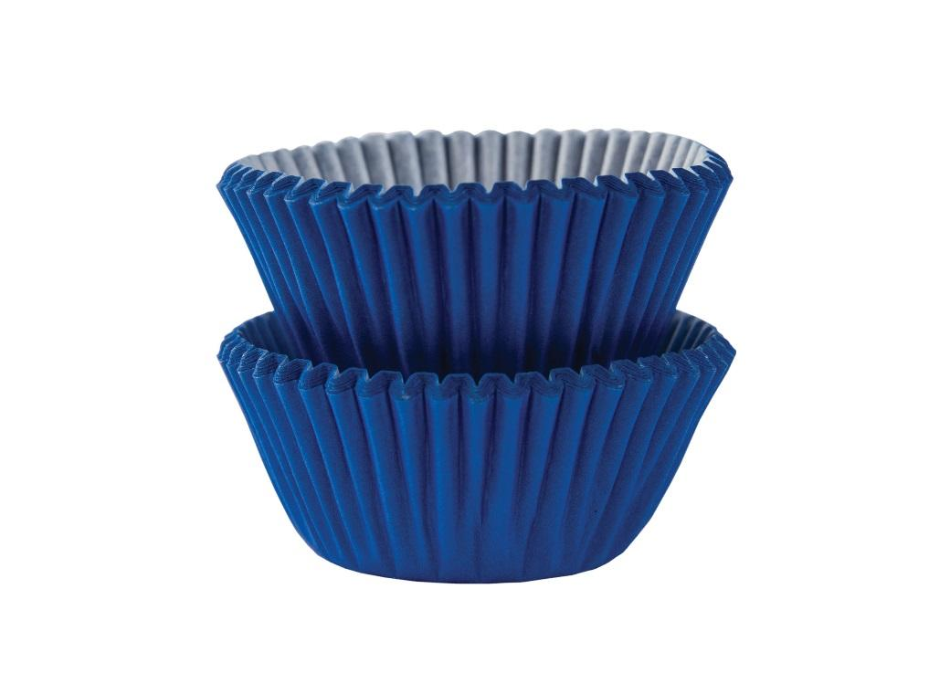 Mini Cupcake Cases 100pk - Royal Blue