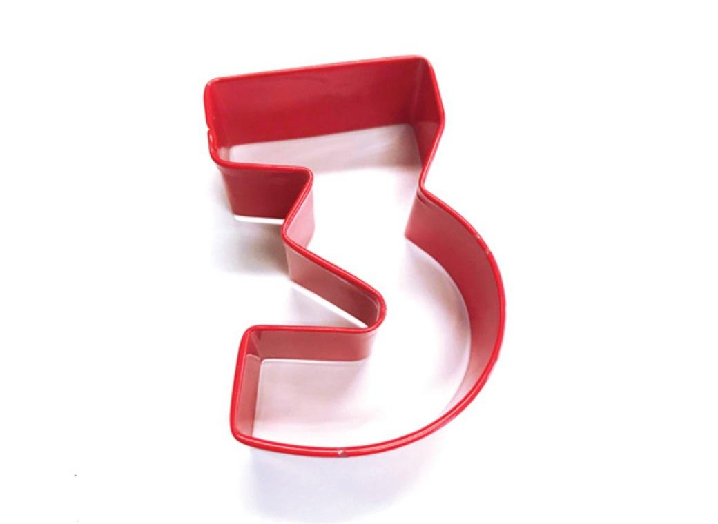 Number Cookie Cutter - 3