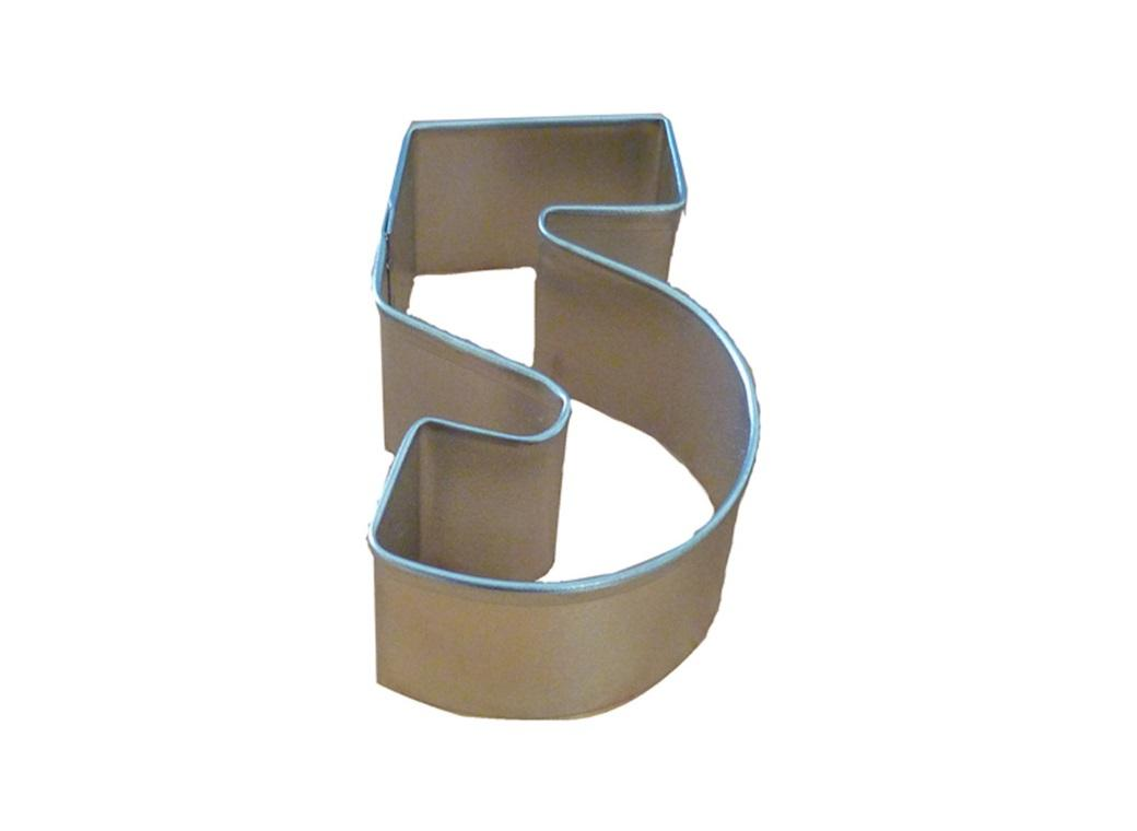 Number Cookie Cutter - 5