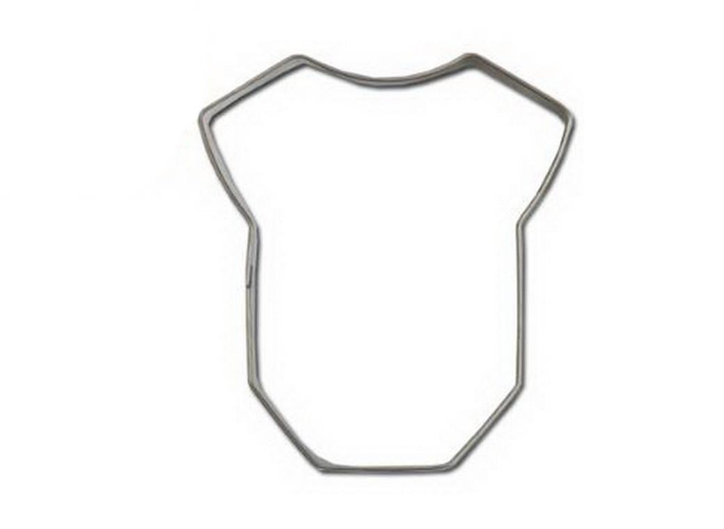 Onesie Cookie Cutter