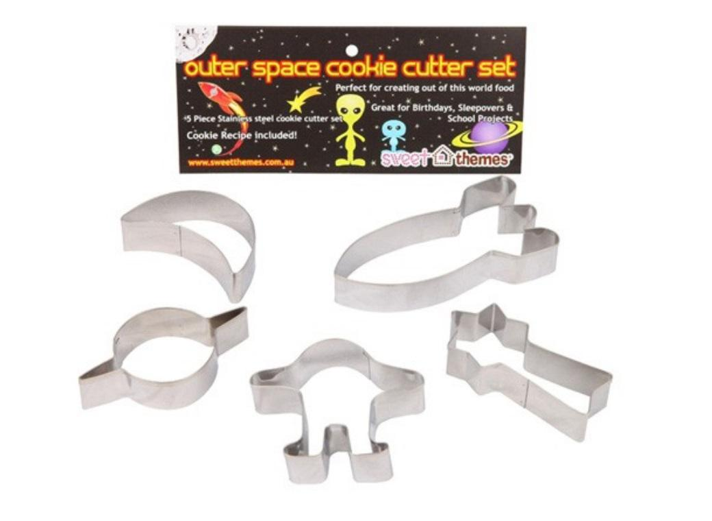 Outerspace Cookie Cutter Set