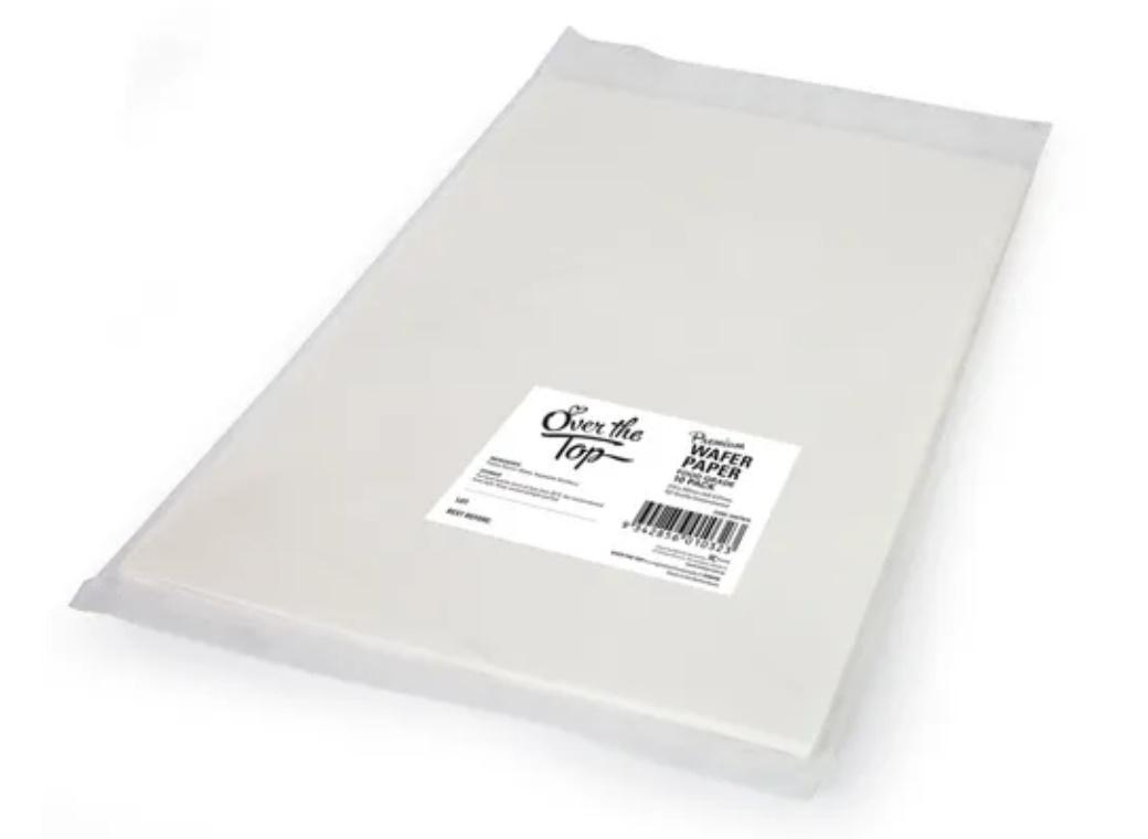 Over The Top A4 Wafer Paper 10pk