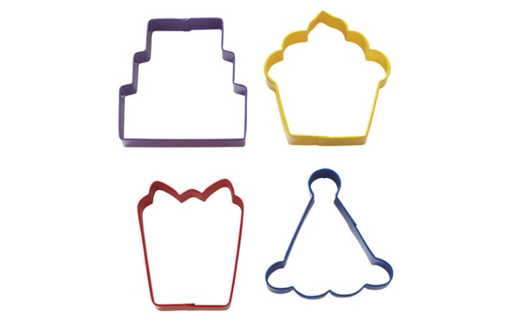 Wilton Party Cookie Cutter Set - 4 pce