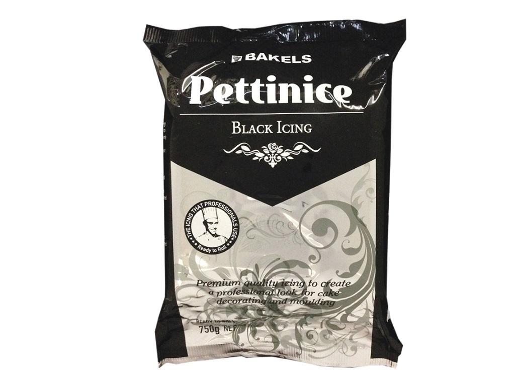 Bakels Pettinice Icing - Black