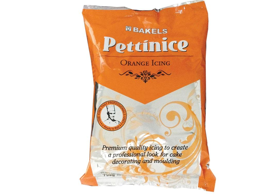 Bakels Pettinice Icing - Orange