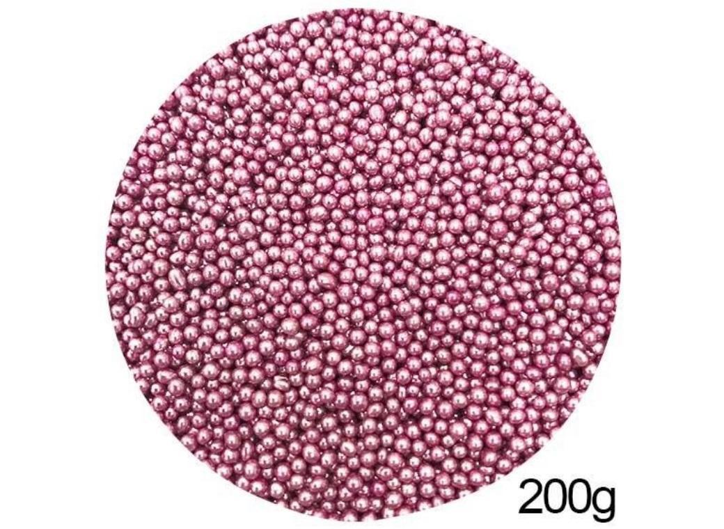 Pink Cachous 2mm 200g