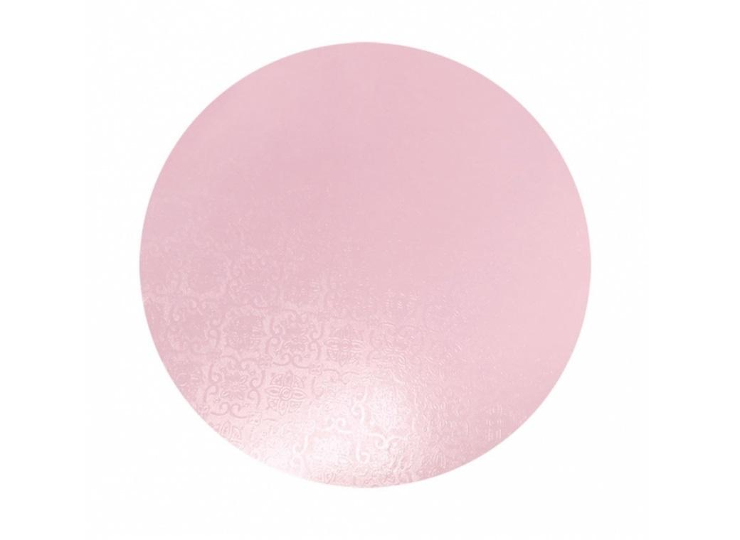 Pink Masonite Cake Board Round - 9""