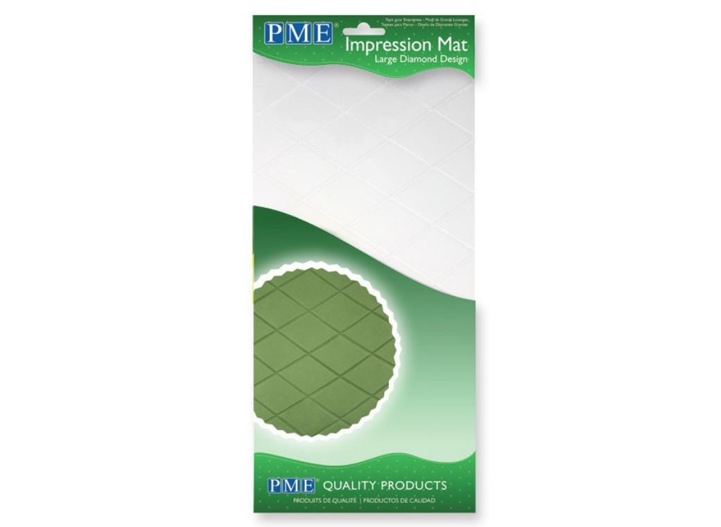 PME Large Diamond Impression Mat