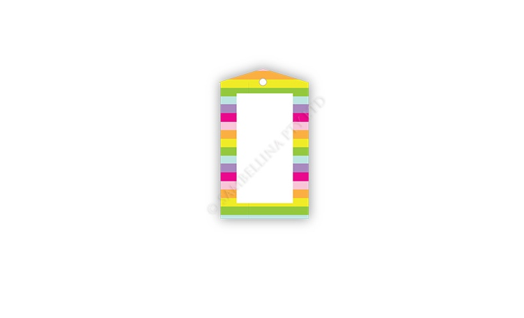Sambellina Gift Tags - Rainbow Stripes
