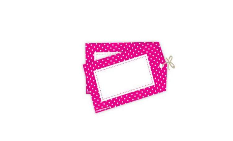 Sambellina Gift Tags – Raspberry Polka Dots