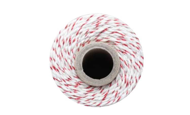 Bakers Twine - Natural & Red Shimmer Twine