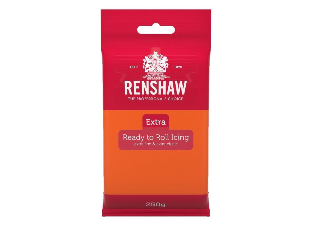 Renshaw Extra Fondant Icing - Orange