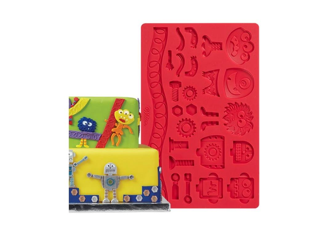 Wilton Robots and Monsters Fondant Mould