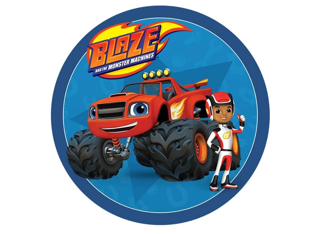Blaze Amp The Monster Machines Candle Set