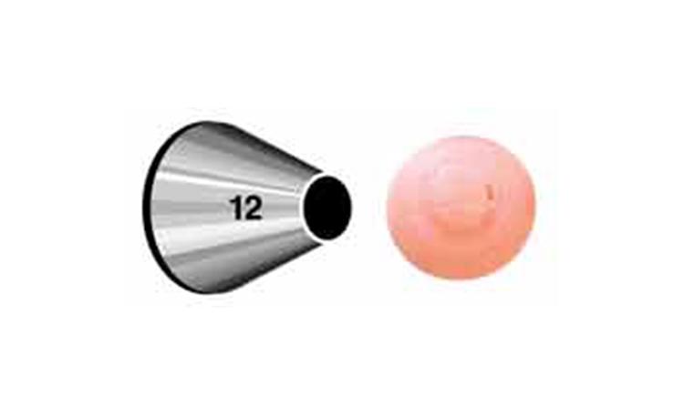 Wilton Round Tip #12