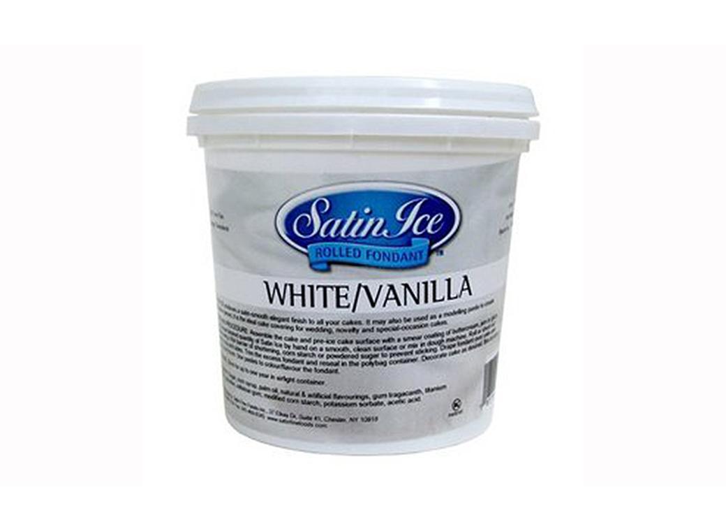 Satin Ice Fondant - White