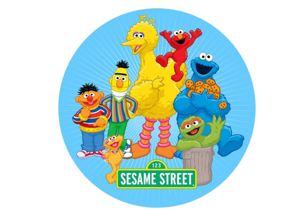 Edible Icing Image - Sesame Street