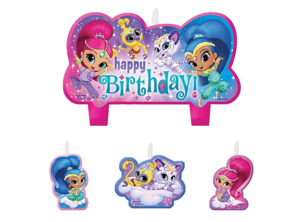 Shimmer & Shine Candles Set