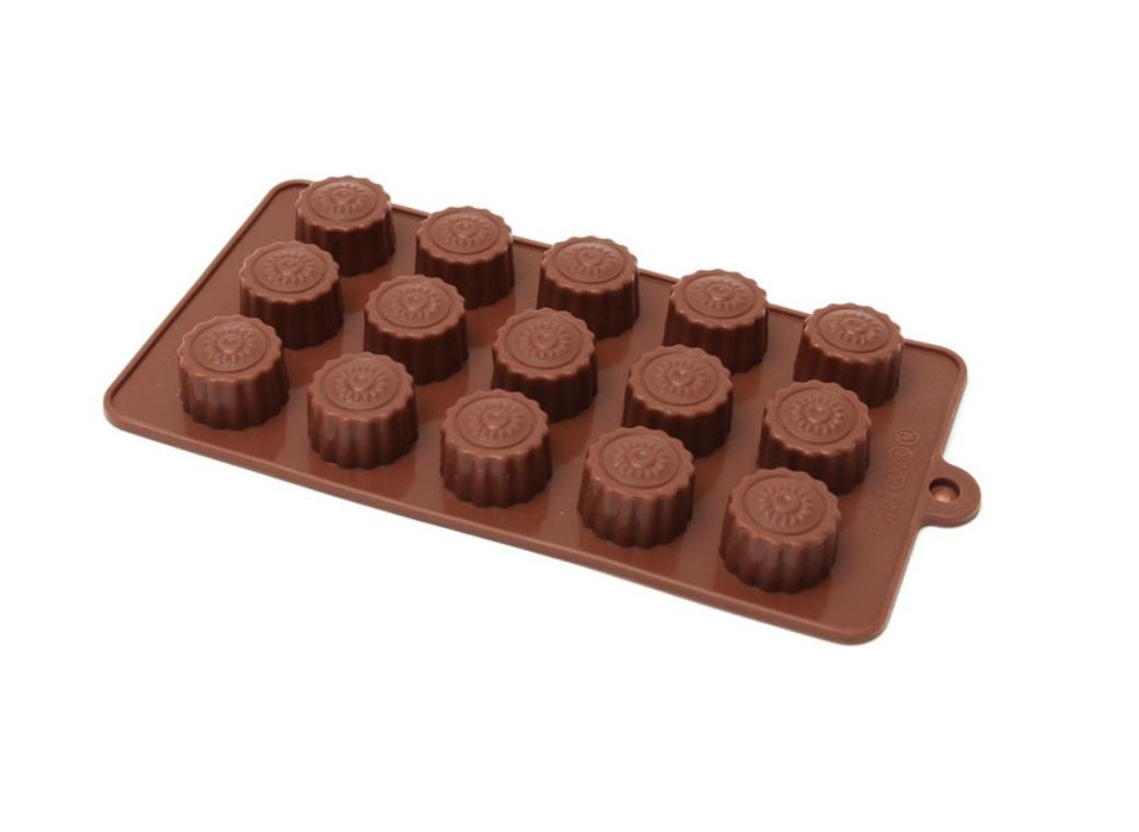 Silicone Chocolate Mould - Buttercups
