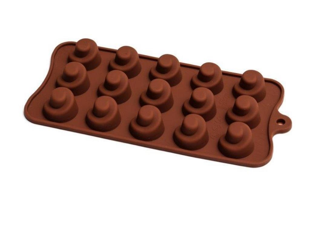 Silicone Chocolate Mould - Swirl