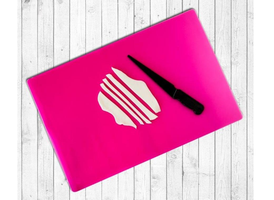 Silicone Mat & Knife Set - Large