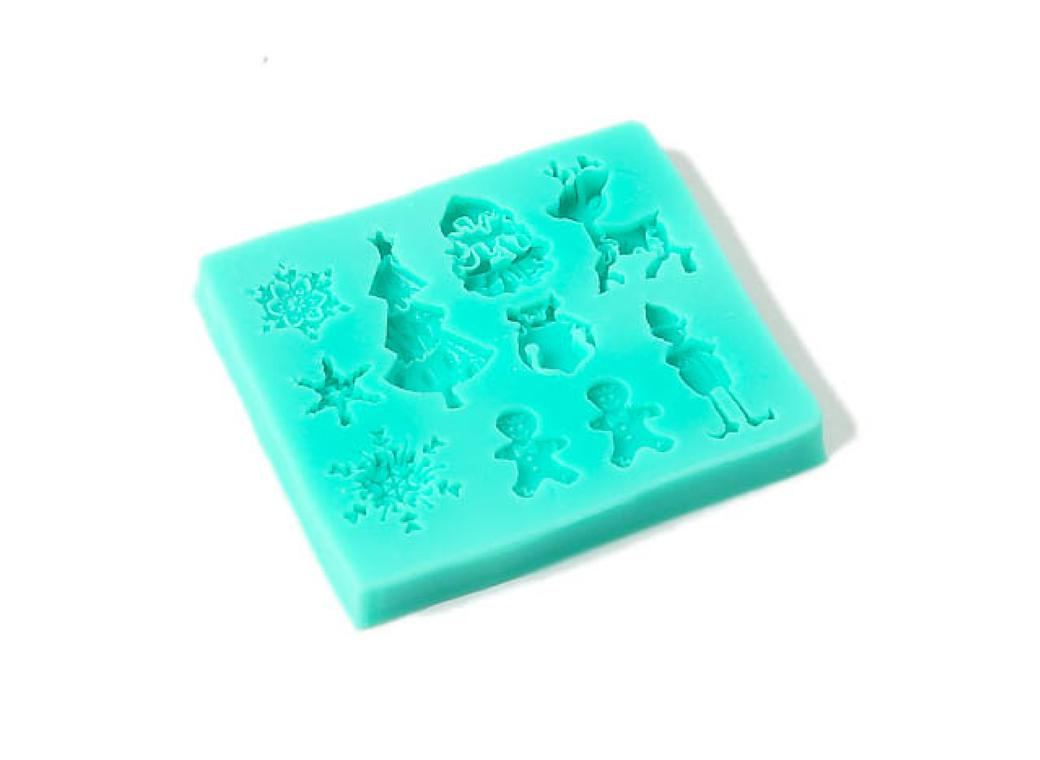 Silicone Mould - Complete Christmas