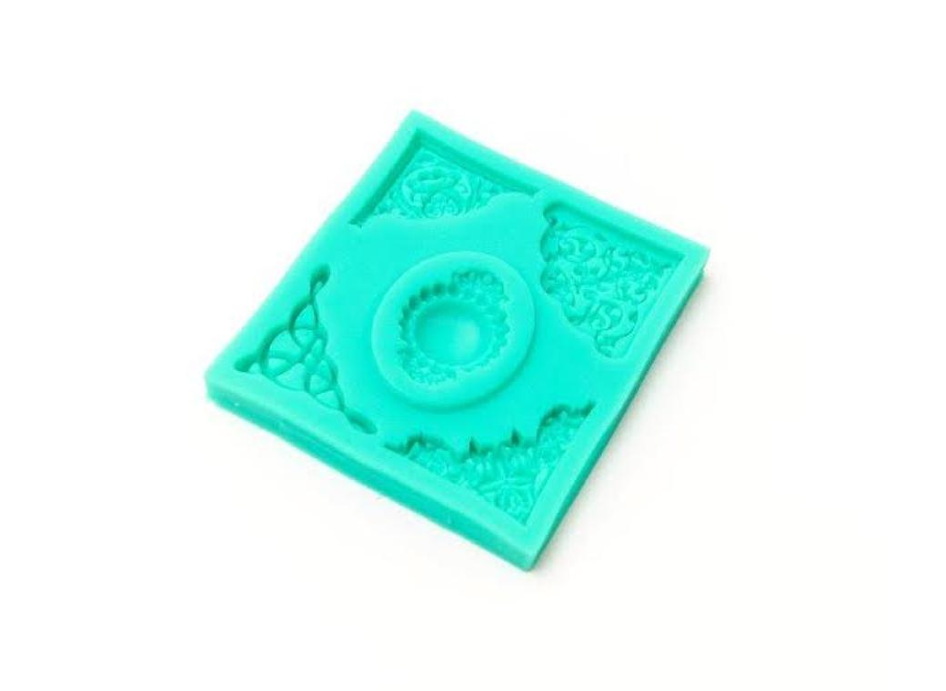 Silicone Mould - Decorative Corners
