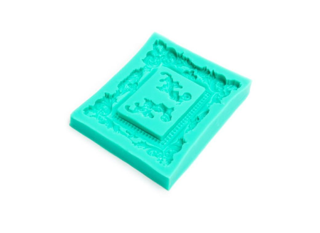 Silicone Mould - Flourish Frames