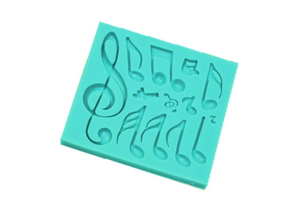 Silicone Mould - Musical Notes