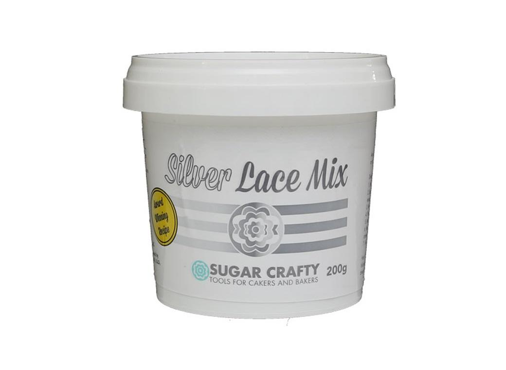 Sugar Crafty Lace Mix - Silver