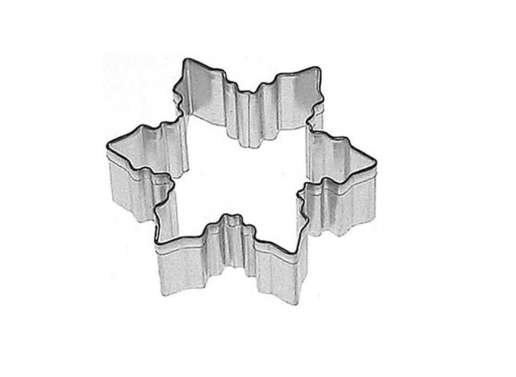 Cookie Cutter - Snowflake Small