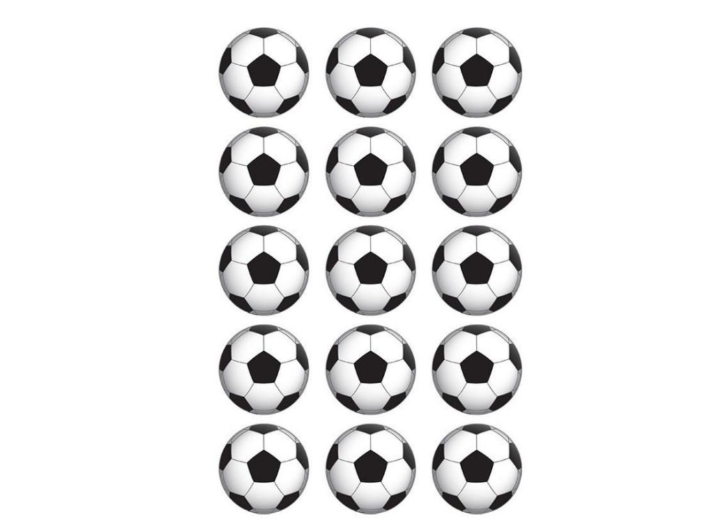 Edible Icing Cupcake Images - Soccer