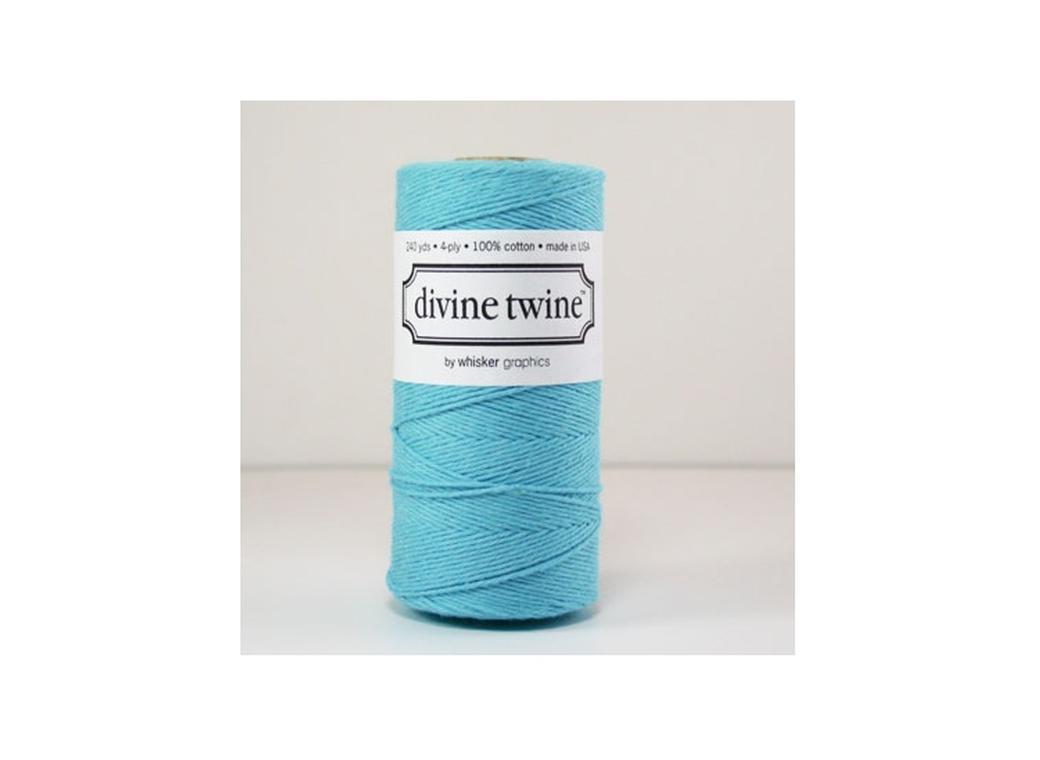 100% Cotton Bakers Twine - Solid Aqua