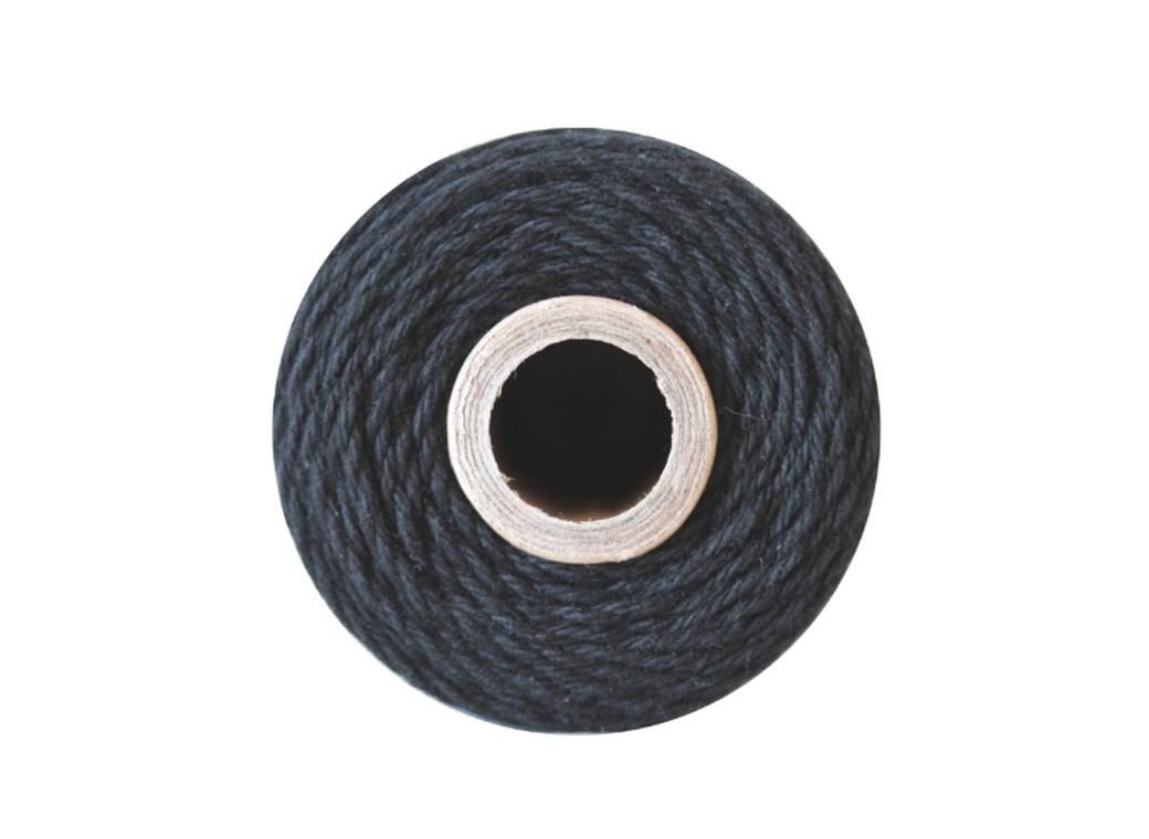 100% Cotton Bakers Twine - Solid Charcoal