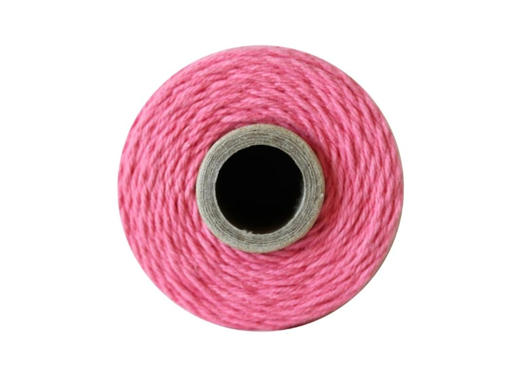 100% Cotton Bakers Twine - Solid Strawberry