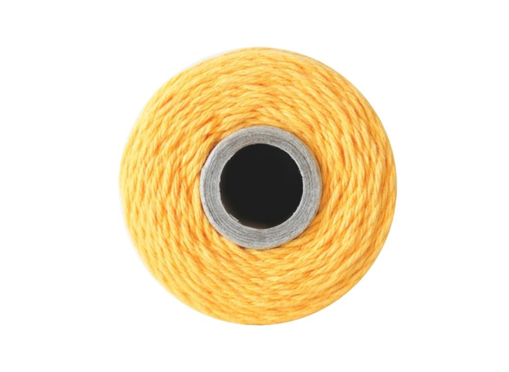 100% Cotton Bakers Twine - Solid Yellow