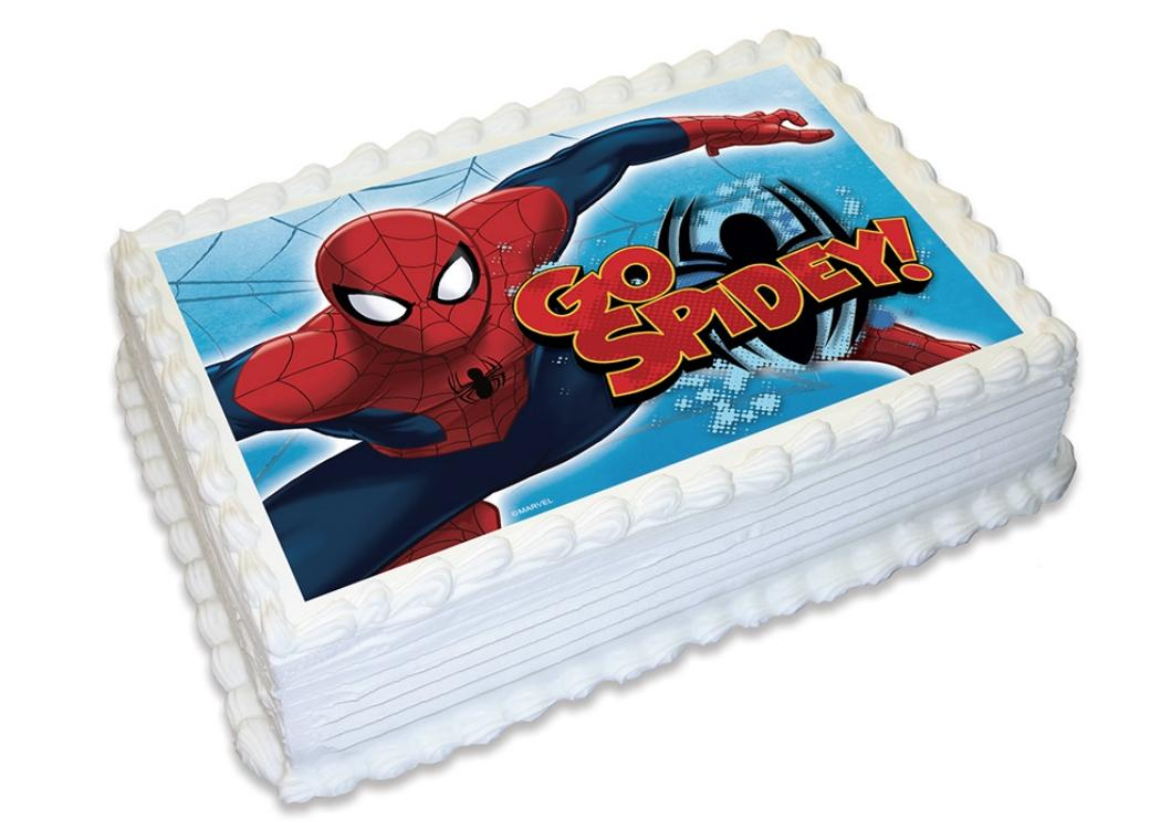 Edible Icing Image - Spiderman A4