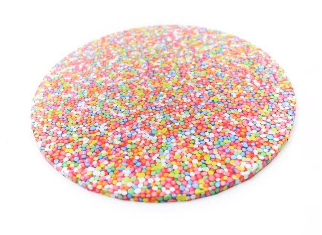 Sprinkles Masonite Cake Board Round 14""